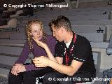 Trainer/coach Mark en pupil Jolijn 1